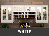 newage Home Bar - White