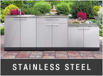 NewAge Stainless Steel Outdoor Kitchen Cabinets