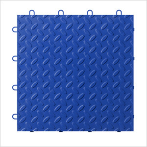 Blue Tile Flooring (24-pack)