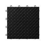 Gladiator GarageWorks Black Tile Flooring (24-pack)