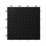 Gladiator GarageWorks Black Tile Flooring (24-pack)