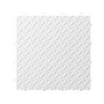 Gladiator GarageWorks White Tile Flooring (24-pack)