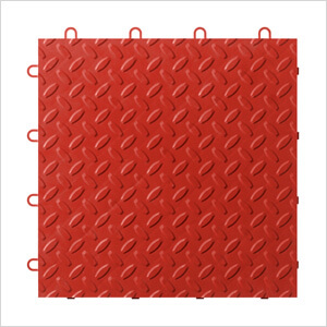 Red Tile Flooring (48-pack)