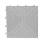 Gladiator GarageWorks Silver Tile Flooring (4-Pack)