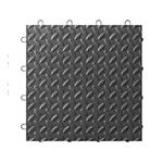 Gladiator GarageWorks Charcoal Tile Flooring (4-Pack)