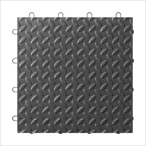 Charcoal Tile Flooring (4-Pack)