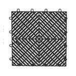 Gladiator GarageWorks Charcoal Drain Tile Flooring (4-Pack)