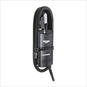 GH-120 Black Wall Mounted Garage Vacuum (Plug-In)