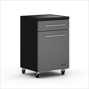 1-Door / 1-Drawer Rolling Base Cabinet