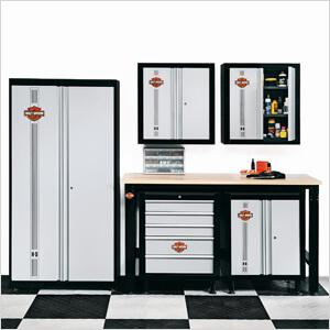 Superbe 6 Piece Garage Storage System