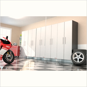 5-Piece Tall Garage Cabinet System