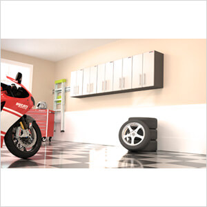 5-Piece Wall Garage Cabinet System