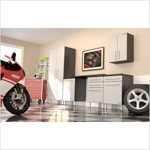 6-Piece Garage Cabinet System