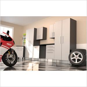 8-Piece Garage Cabinet System