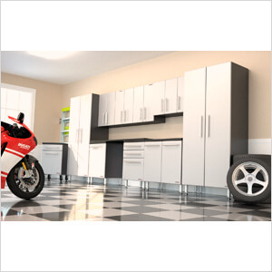 11-Piece Garage Cabinet System