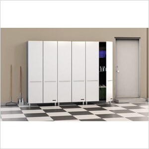 3-Piece Tall Cabinet Set in Starfire Pearl