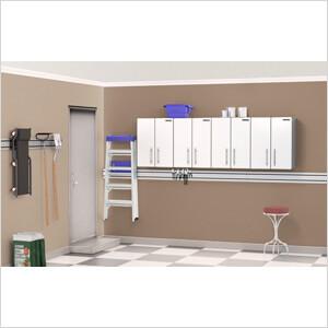 2-Door Wall Cabinet Kit in Starfire Pearl