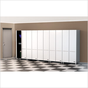 5-Piece Tall Cabinet Kit in Starfire Pearl