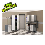 Ulti-MATE Cabinets 7-Piece Cabinet Kit in Starfire Pearl