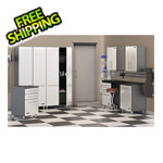 Ulti-MATE Cabinets 8-Piece Cabinet Kit in Starfire Pearl