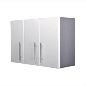3 Door Wall Cabinet  in Starfire Pearl