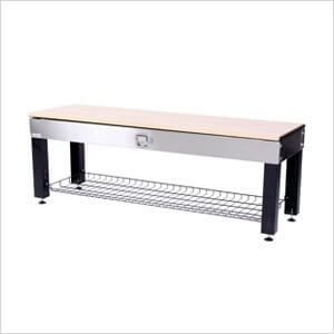Incroyable Stainless Steel Storage Activity Bench