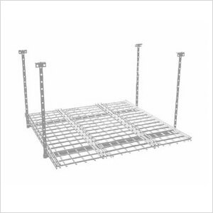 45 x 45-Inch Overhead Storage Rack