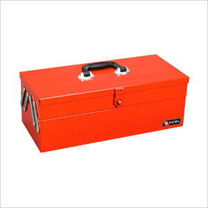 3-Tray Cantilever Metal Toolbox