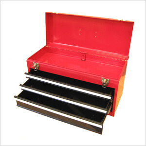 3-Drawer Portable Toolbox