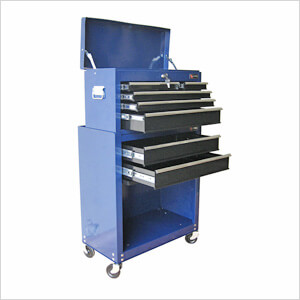 8-Drawer Roller Cabinet Tool Chest (Blue)