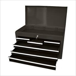 6-Drawer Metal Tool Chest (Black)