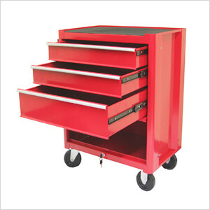 3-Drawer Roller Metal Tool Chest