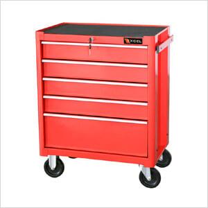 5-Drawer Roller Metal Cabinet