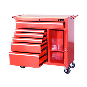 Metal Tool Chest with Work Surface