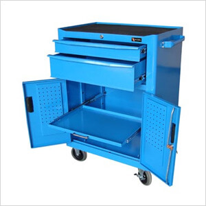 2-Drawer Roller Cabinet with Peg Board