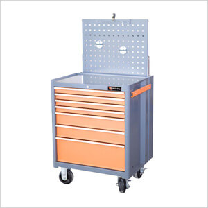 7-Drawer Tool Chest with Peg Board