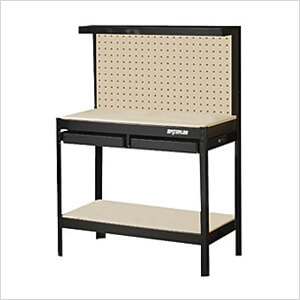 Prime 2 Drawer Economy Workbench With Backwall Theyellowbook Wood Chair Design Ideas Theyellowbookinfo