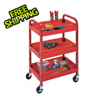Luxor Red Utility Cart