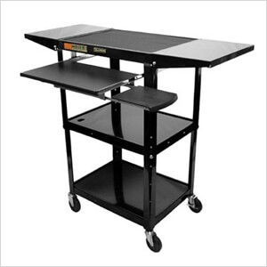 Height Adjustable Workstation in Black