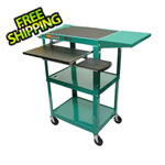 Luxor Height Adjustable Workstation in Green