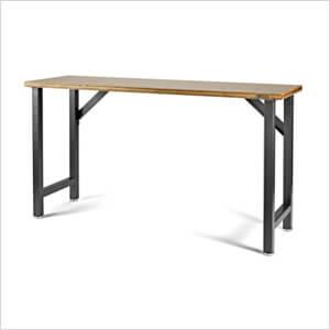 66.5-Inch Hardwood Modular Workbench
