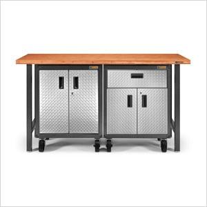 5-Piece RTA Garage Cabinet Set