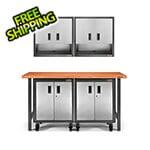 Gladiator GarageWorks Hardwood Workbench and RTA Cabinet Kit