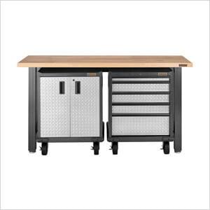 3-Piece Premier Base Cabinet Set