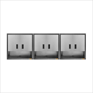 "3 x Ready-To-Assemble 28"" Wall Cabinets"
