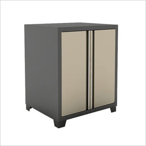 Beau Taupe Garage Base Cabinet