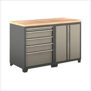 Attrayant 3 Piece Garage Cabinet Kit: Option 1
