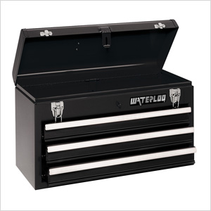 3-Drawer Portable Metal Tool Chest