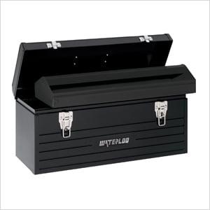 "20"" Metal Tool Box with Metal Tote"