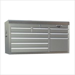Viper V4109ssc Stainless Steel Tool Chest 9 Drawer Top